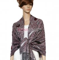 Thicker Paisley Shawl LP031-11