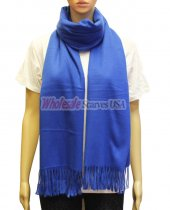 Cashmere Feel Pashmina Royal Blue