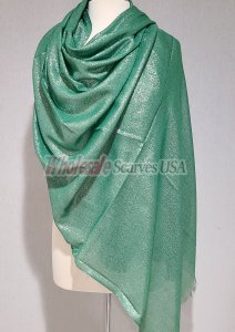 Shimmer Solid Wrap Green