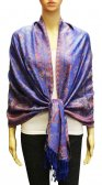 Wholesale Gaint Paisley Pashmina Royal Blue