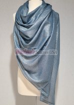 Shimmer Solid Wrap Navy