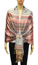 Geometry Pattern Scarf BH1803-14