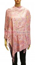 Wholesale Butterfly Design Pashmina Blush