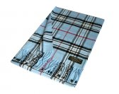 Woven Classic Scarf A67 Blue