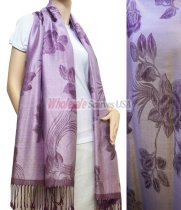 Rose Pashmina Light Purple