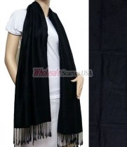 Rose Pashmina Black