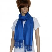 Solid Pashmina Royal Blue