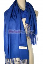 Silky Light Solid Pashmina Royal Blue