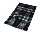 Woven Classic Scarf A67 Black