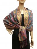 Pashmina Abstract Leaf BH1203-8