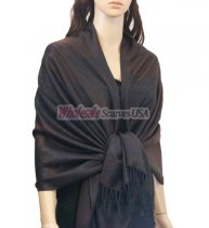 Phenix Tail Light Shawls Dark Brown