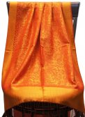 Paisley Jacquard S-Border Orange