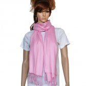Solid Pashmina Light Pink