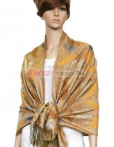 Metallic Pashmina Gold