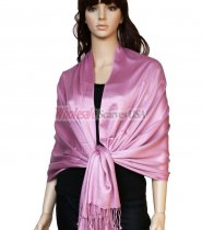 Super Solid Pashmina Lilac