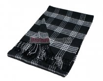 Woven Special Design Scarf #44-01 Black