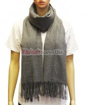 Cashmere Feel Pashmina Grey