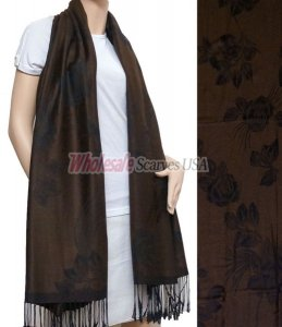 Rose Pashmina Coffee