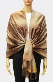 Pashmina Ombre Leopard Gold/Brown