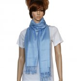 Solid Pashmina Light Blue