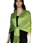 Super Solid Pashmina Yellow Green