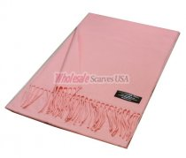 Winter Woven Plain Scarf light pink E020