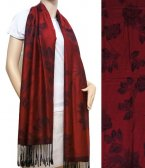 Rose Pashmina Jujuba Red