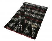Woven Classic Scarf Black