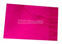Woven Plain Scarf Hot Pink