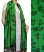 Rose Pashmina Green