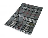 Woven Classic Scarf A67 Grey