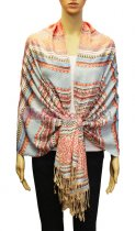 Geometry Pattern Scarf BH1803-08