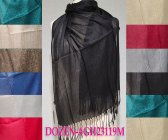 Sheer Metallic Scarf 1 DZ, Asst. Color