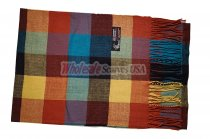 Cashmere Feel Checker Scarf Multi #SF-311