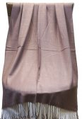 Silky Light Solid Pashmina Rosy Brown