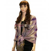 Beautiful Paisley Pashmina Purple