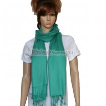 Solid Pashmina Light Sea Green