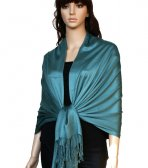 Super Solid Pashmina Cadet Blue