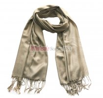 Solid Pashmina Champagne Gold