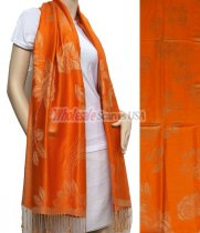 Rose Pashmina Orange