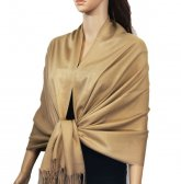 Solid Pashmina Gold