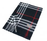 Cashmere Feel Classic Scarf A66 Black