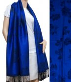 Rose Pashmina Royal Blue