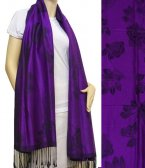 Rose Pashmina Purple