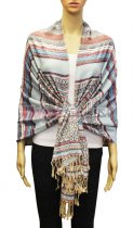 Geometry Pattern Scarf BH1803-03