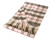 Woven Classic Scarf White