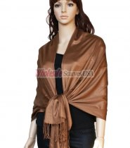 Super Solid Pashmina Cinnamon