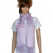 Solid Pashmina Thistle