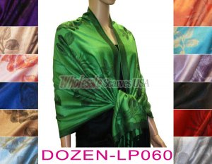 Rose Pashmina 1 DZ, Asst. Color
