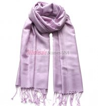 Paisley Jacquard Shawl Light Lavender